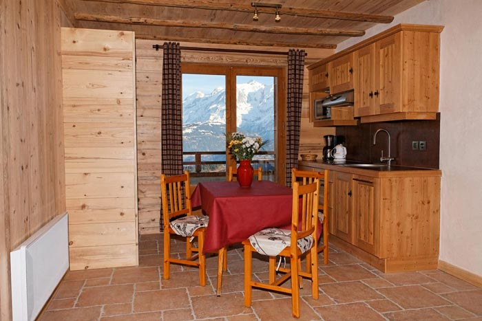 Location appartements à Cordon sur pistes de skis